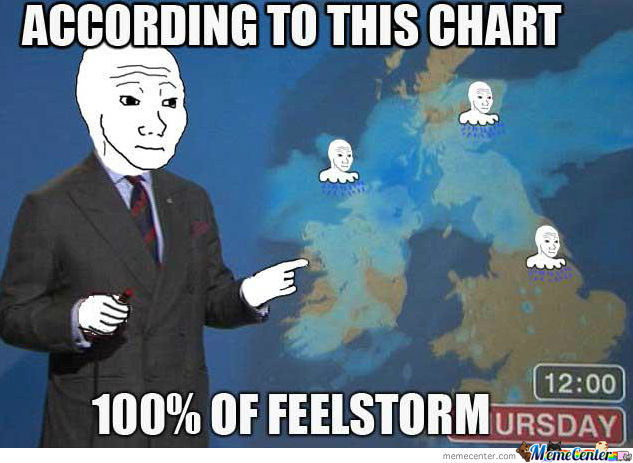 0 Chance Of A Feelstorm...