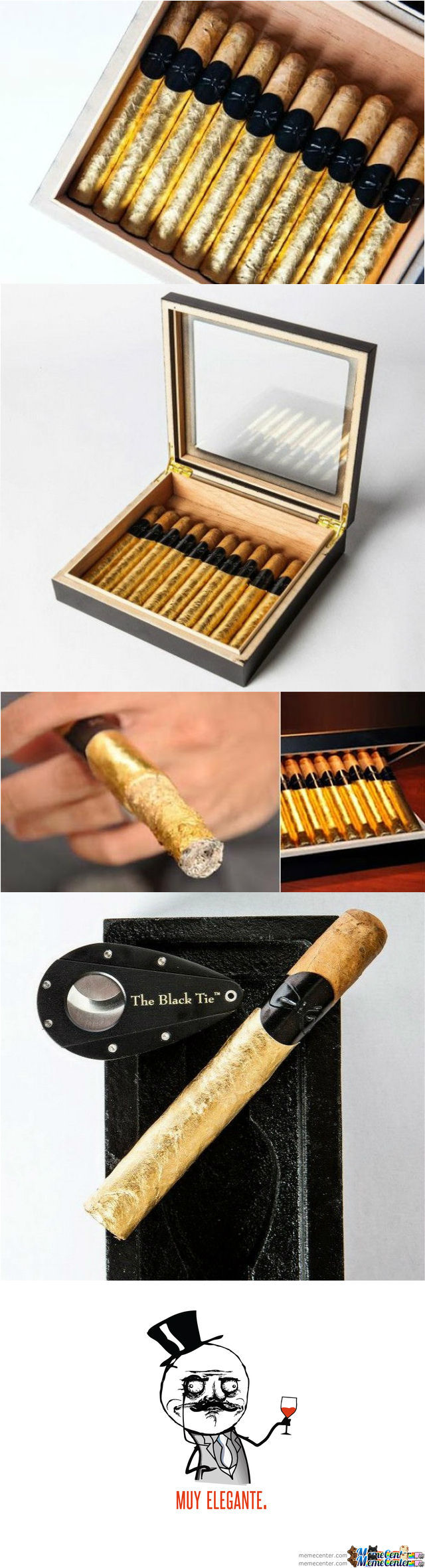 1 Gold Cigar Please ?