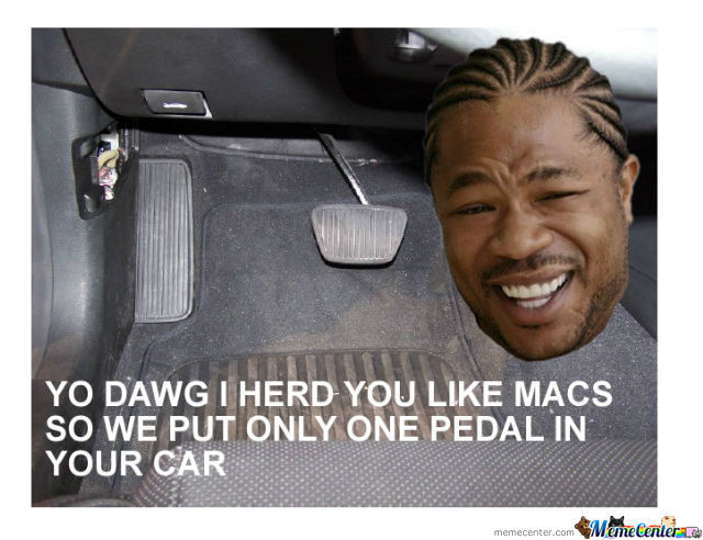 1 Pedal In Your Car