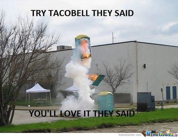 1 Reason Not To Go To Tacobell