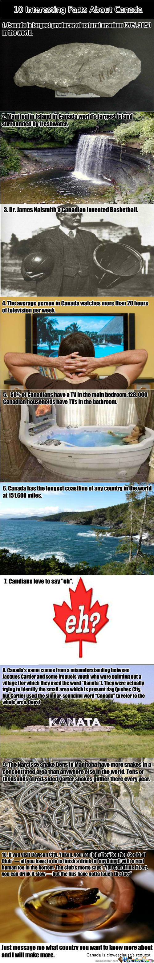 10 Interesting Things About Canada