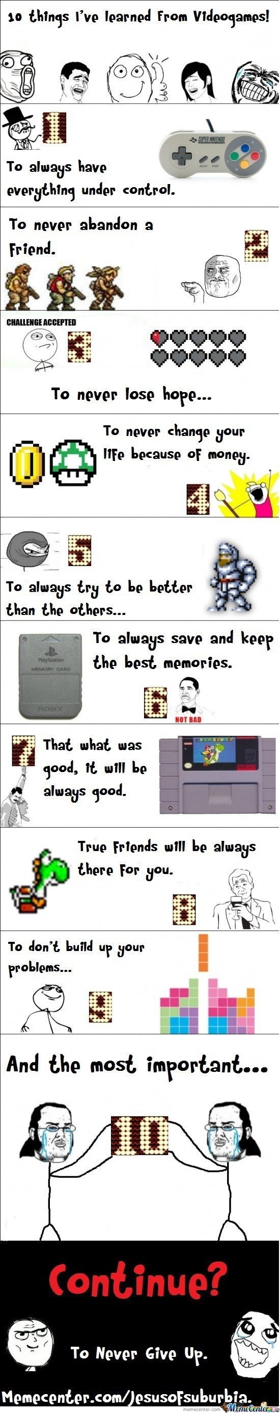 10 Things I've Learned From Videogames