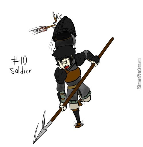 100 Classes 011: Soldier Feat.theimperialknight