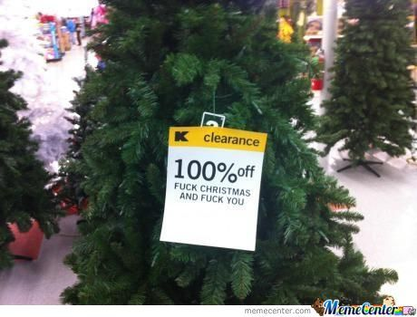 100% Off Christmas Tree