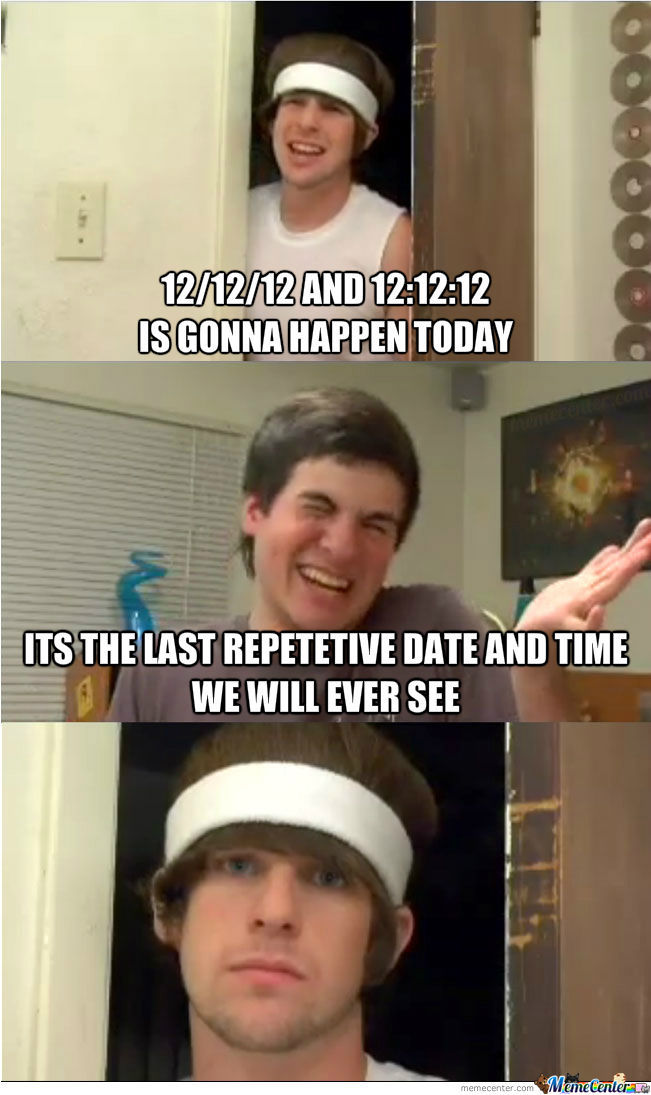 12/12/12 And 12:12:12
