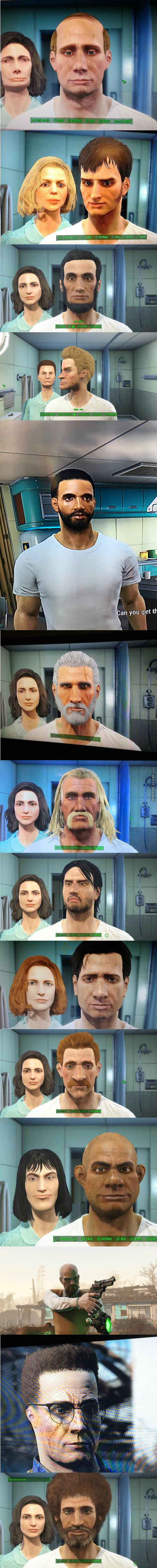 13 Famous People Recreated In Fallout 4. Can You Name Them All?