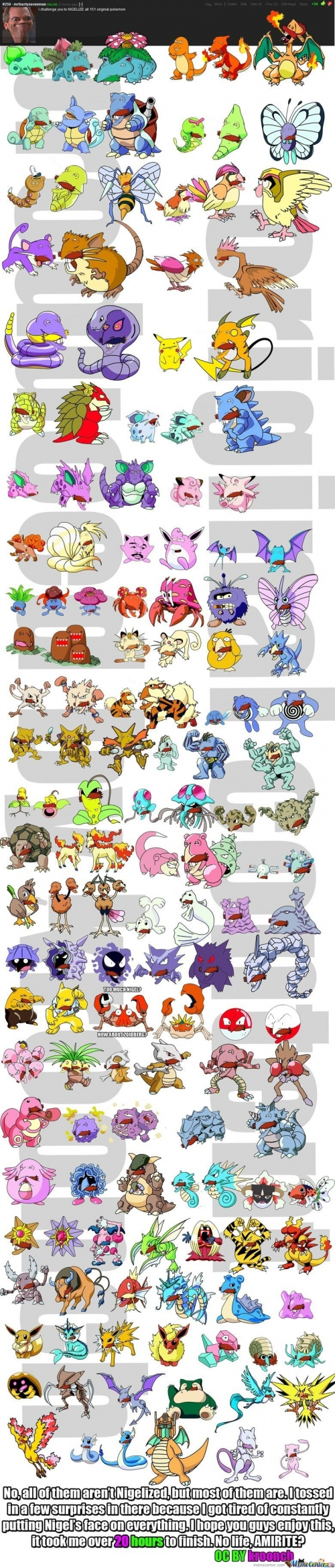 151 Pokemon - Nigel