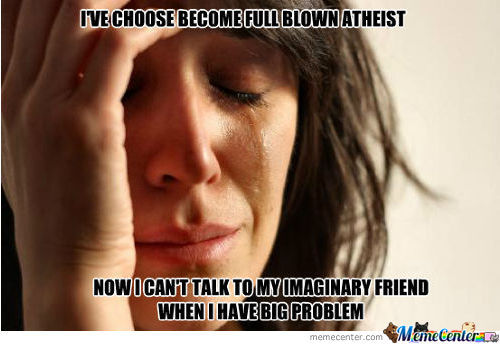1St World Atheist Problem