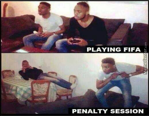 2 Boys Playing Fifa