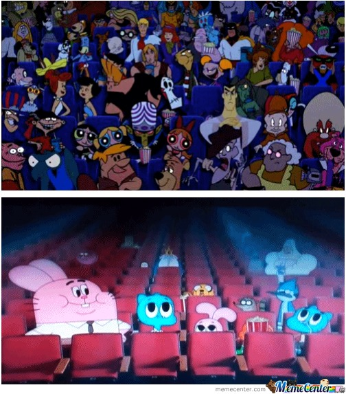 2002 Vs 2012 Cartoon Network