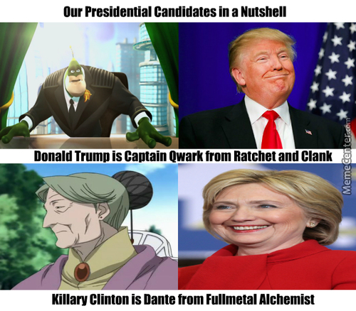 2016 Presidential Candidates In A Nutshell