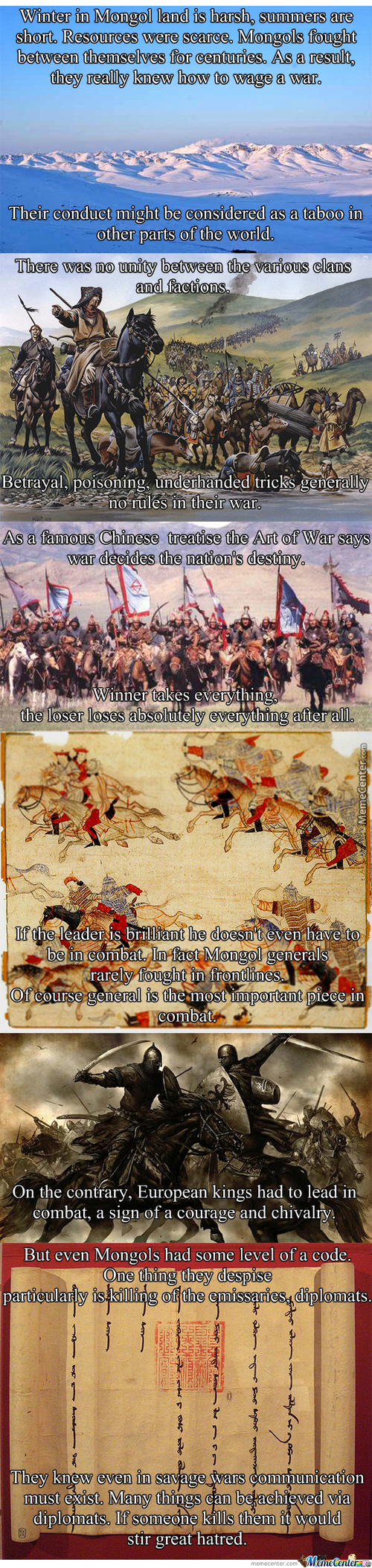 Mongol Facts #2