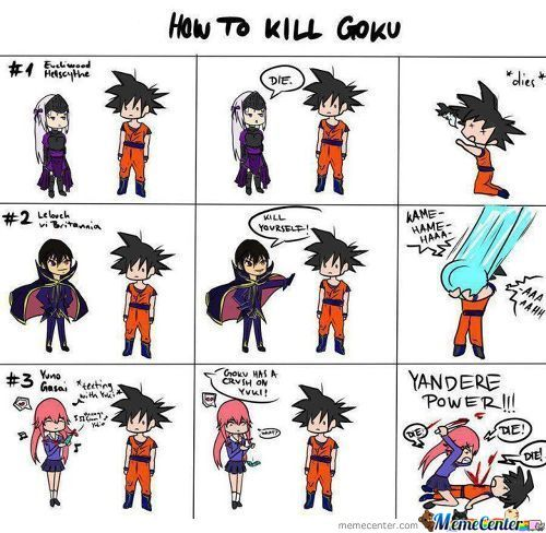 3 Ways To Kill Goku