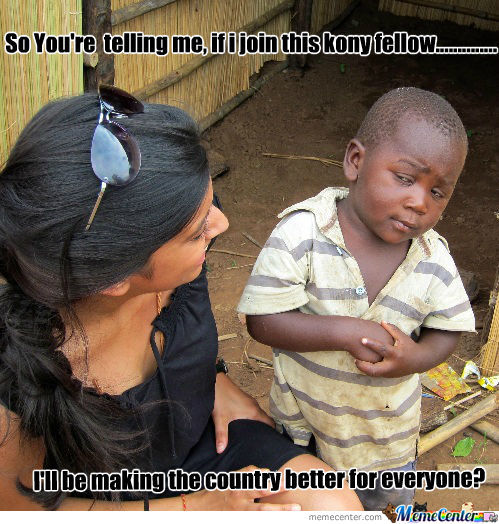 3Rd World Skeptical Kid Meme