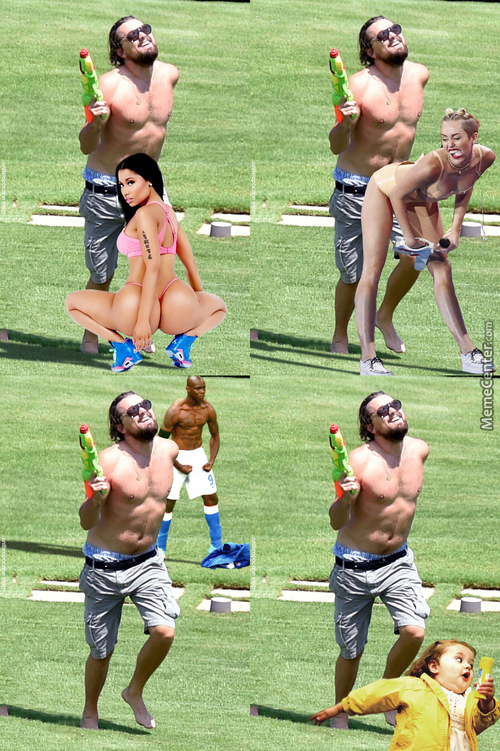 4 Ways Leonardo Dicaprio Gets Down With A Water Pistol
