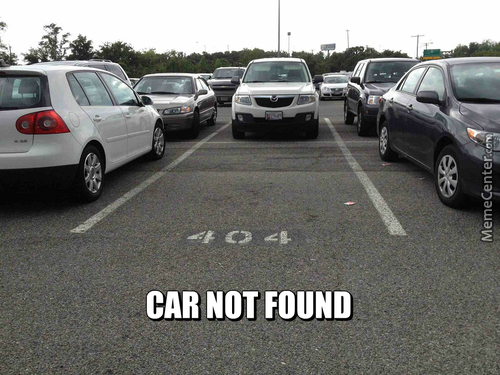 404 Car Not Found
