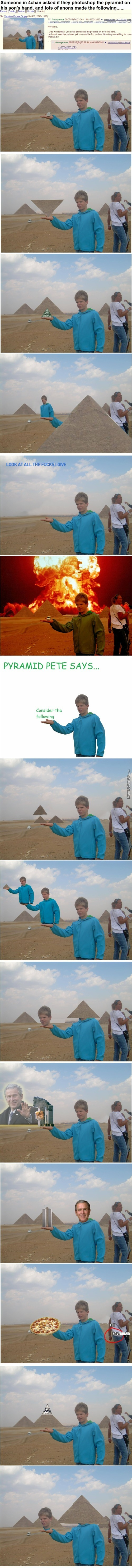 4Chan Calls Him Pyramid Pete