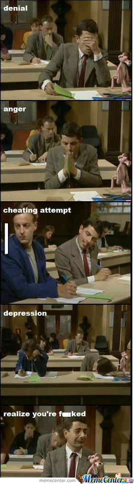 5 Situations During Exam