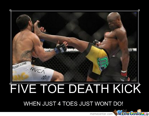 5 Toe Death Kick