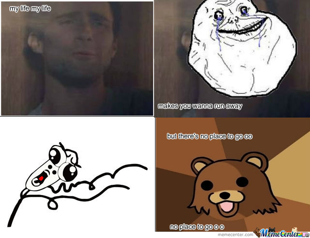 50 Cent My Life Ft Pedo Bear ,forever Alone