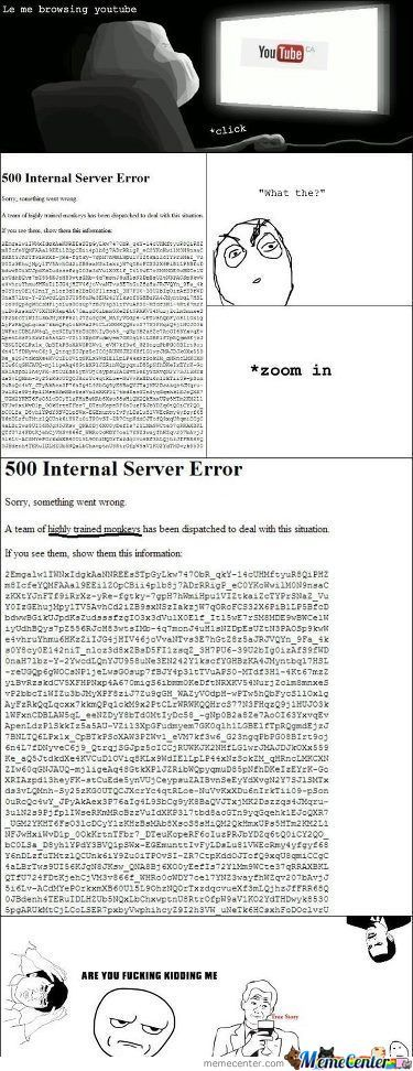 500 Internal Server Error.