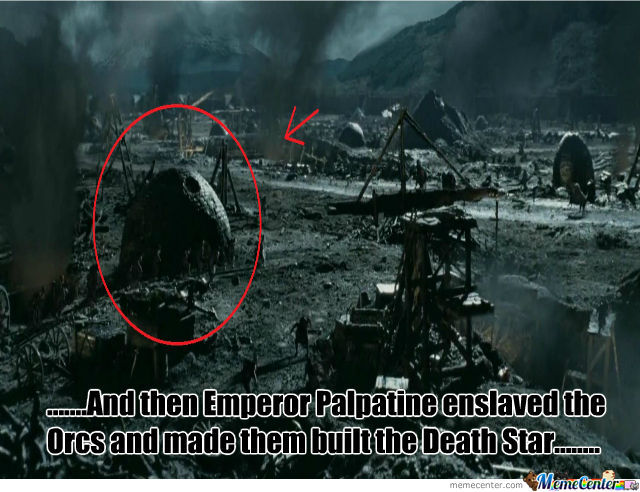 5Am Watching Lotr And Saw This.....