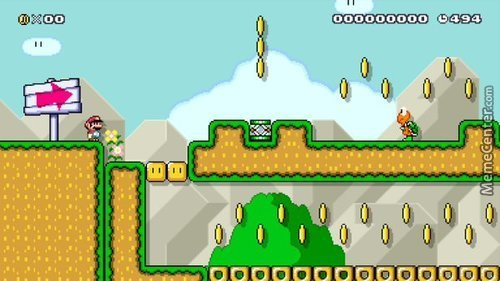 5F32-0000-00D6-Ec8E - Shameless Mario Maker Post!  Try Out My Winding Level Of Rooms!