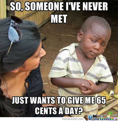 65 Cents?