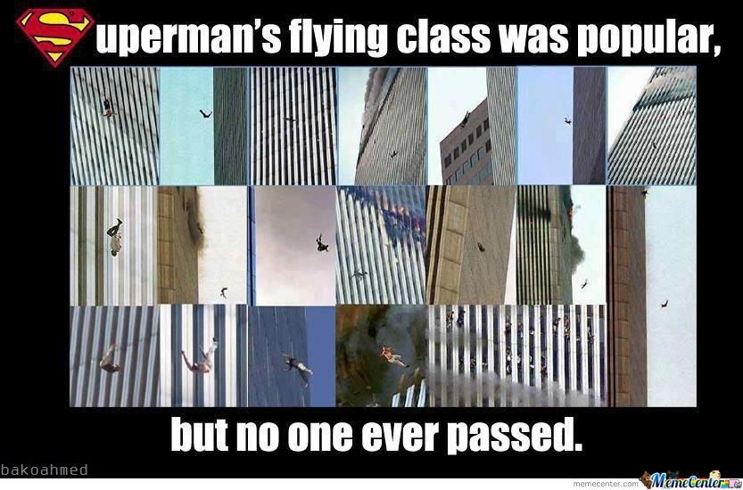 9/11 Superman's Flying Class