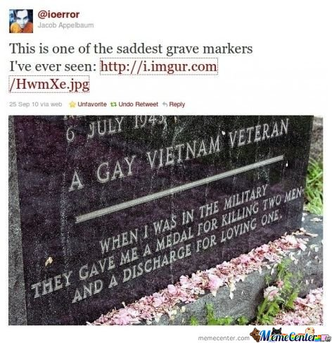 A GAY VIETNAM VETERAN