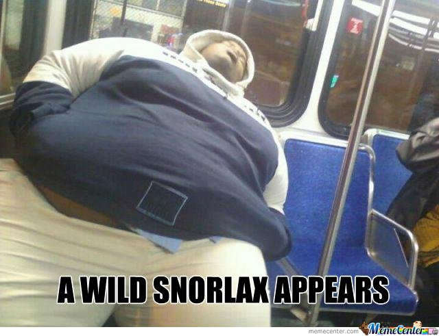 A Wild Snorlax Appears