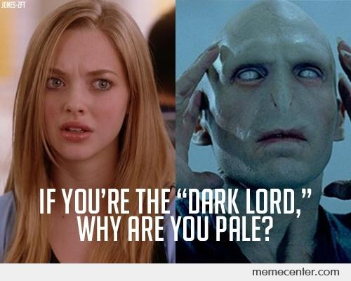 A question for the dark lord
