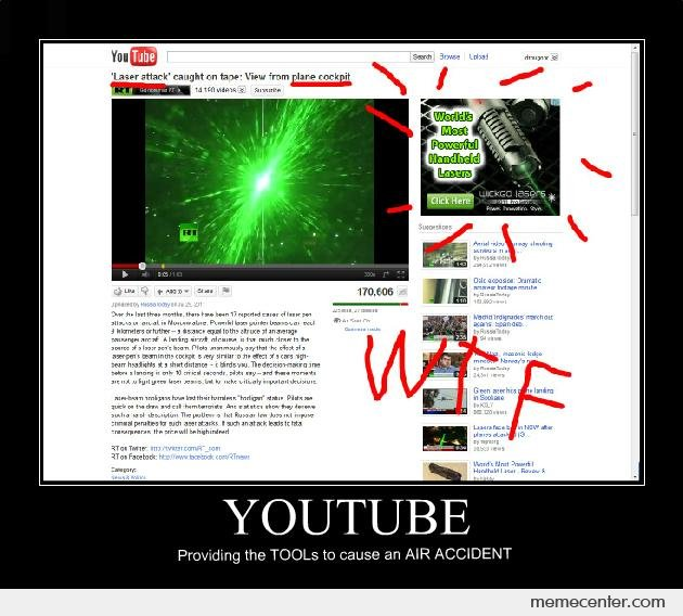 AIR ACCIDENT (sponsored by youtube)