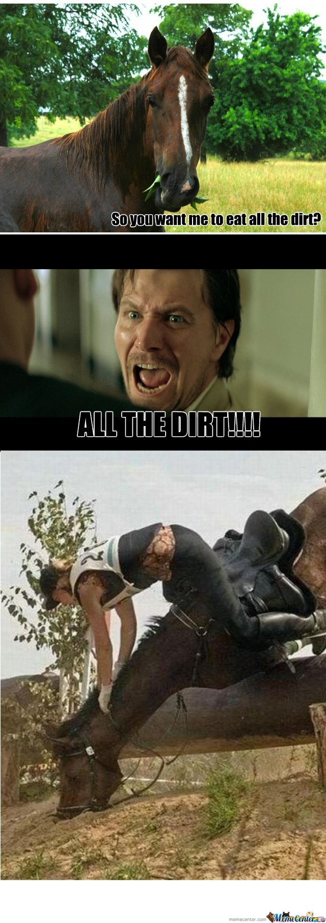 ALL THE DIRT!!!