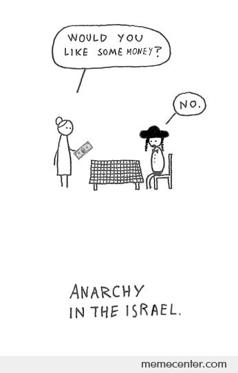 Anarchy in Israel