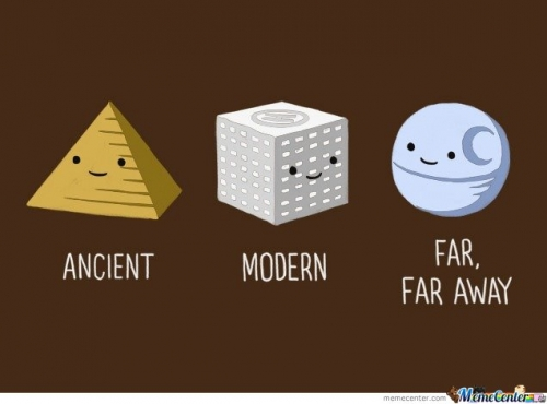 Ancient,Modern And Far Far Away