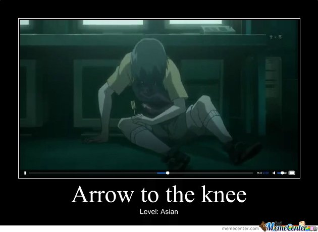 Arrow to the knee