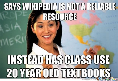 Asshole Teacher: Wikipedia