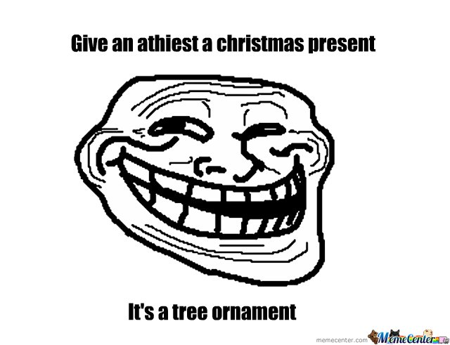 Athiest christmas