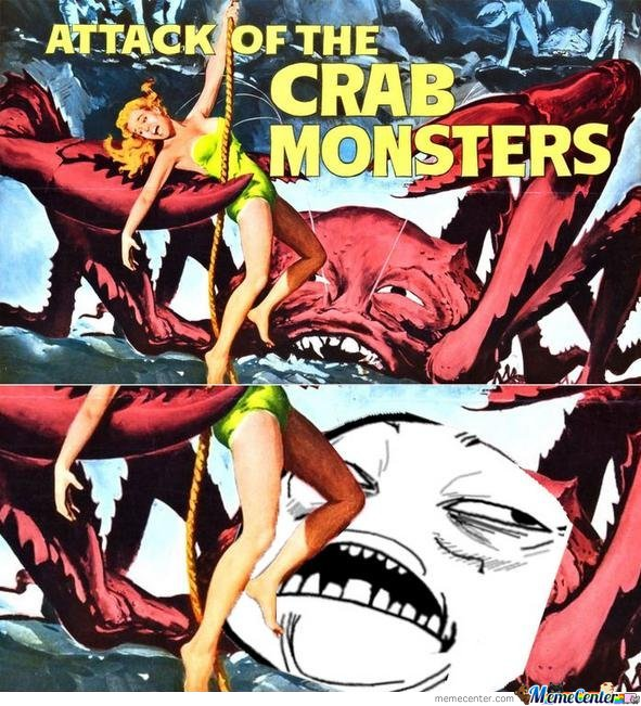 Attack of the crab monsters , Sweet jesus