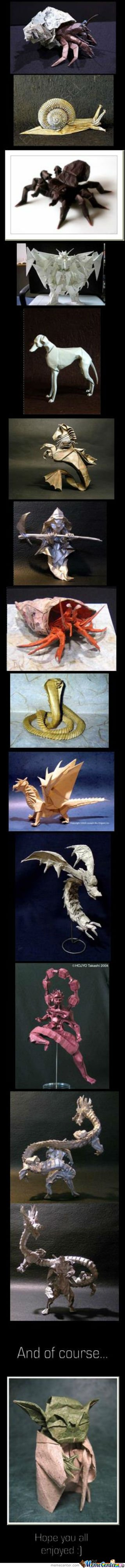 Awesome Origami Comp