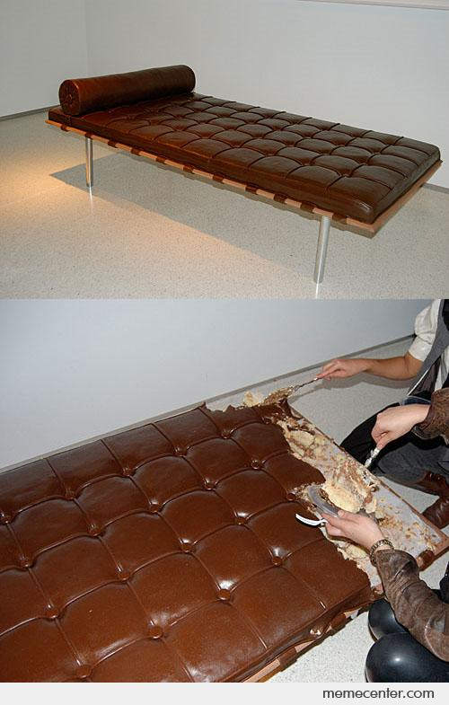Awesome Sofa Cake