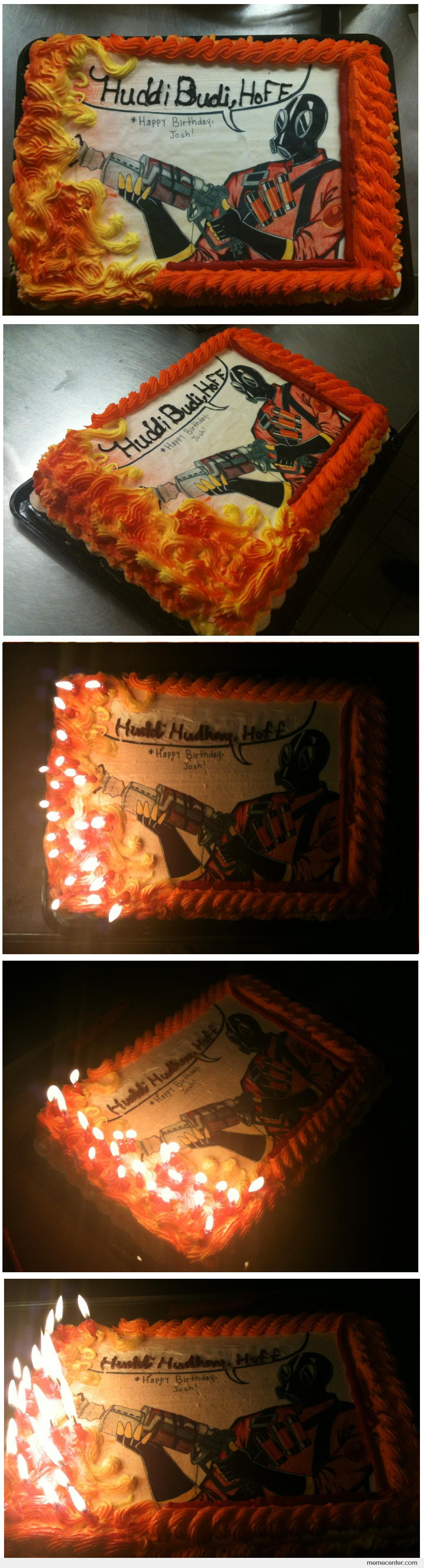 Awesome TF2 Cake