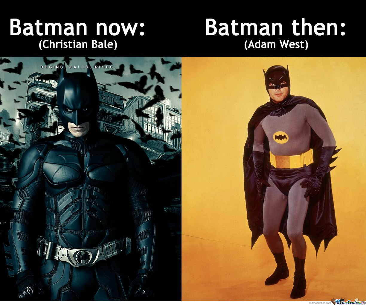 Batman Now & Batman Then