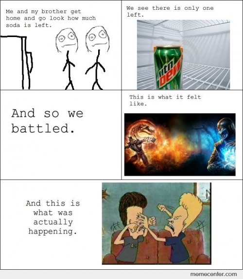 Battle for the last soda
