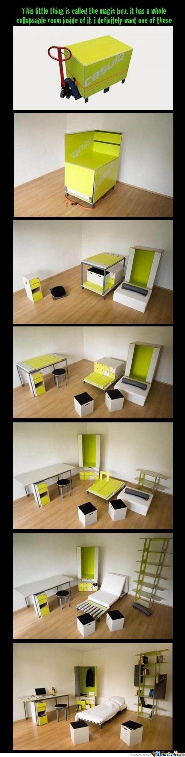 Bedroom in a box by colmulhall meme center - Room in a box casulo ...