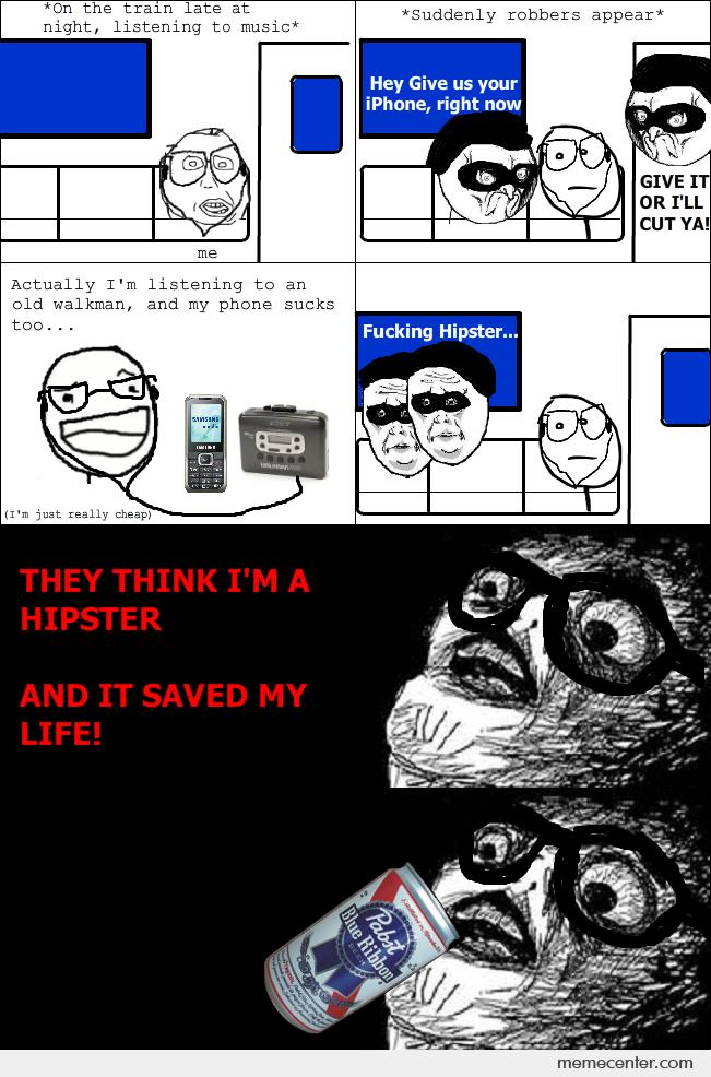 Being Hipster Saved Me