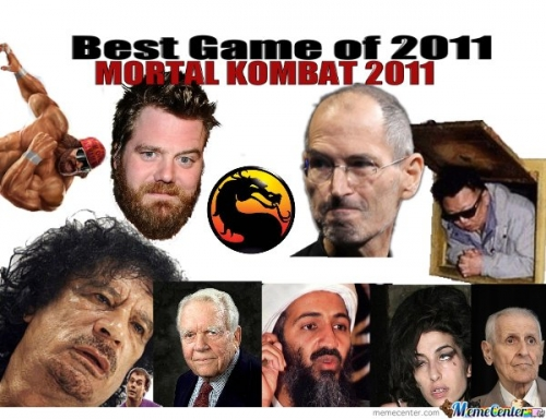 Best game of 2011- Mortal Kombat 2011