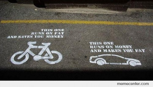 Bicycle vs Car