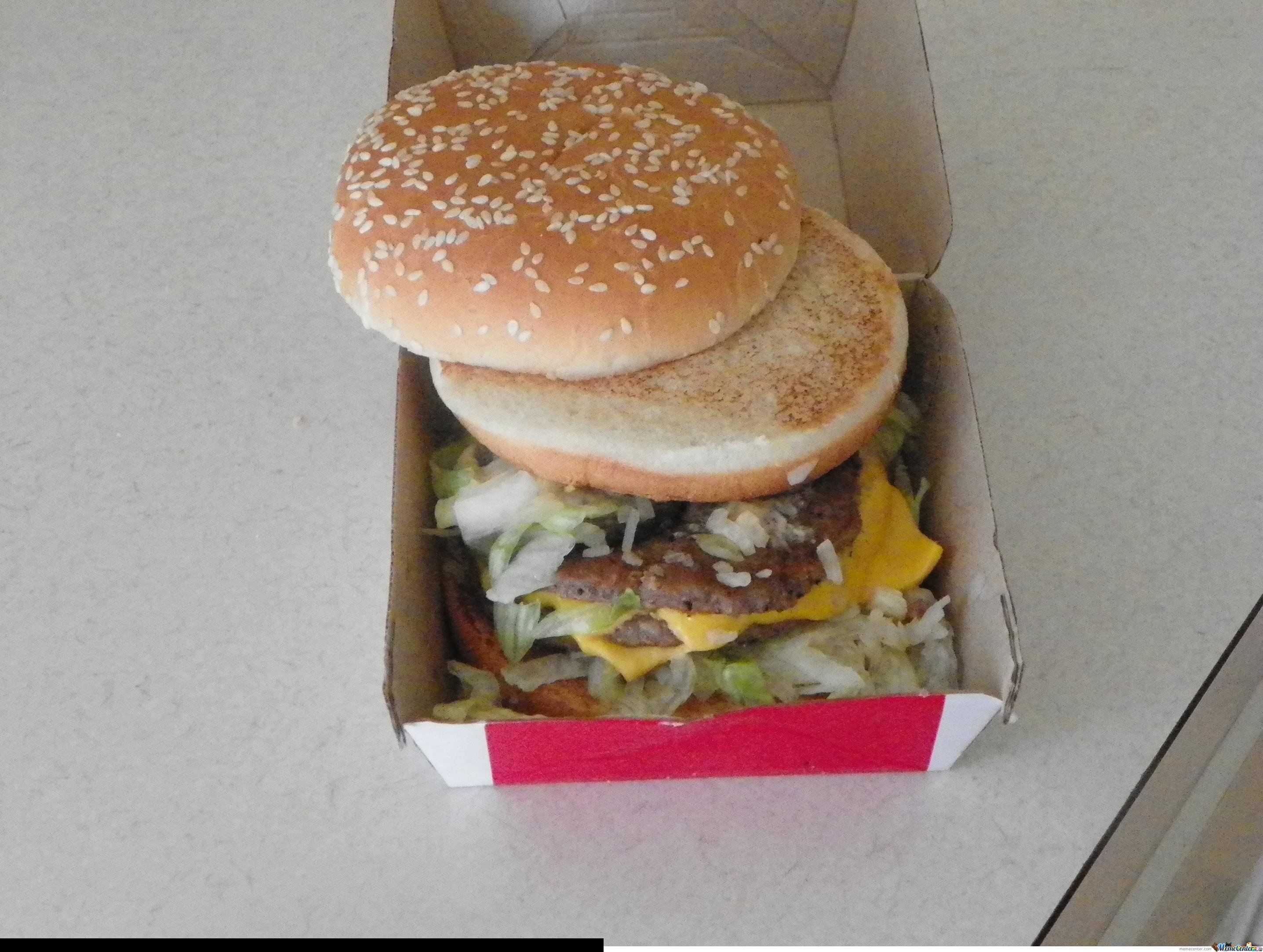 Big Mac Fail